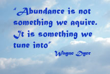 How does one define abundance?