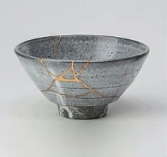 cracked pottery